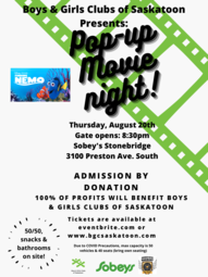 Pop-Up Movie Night